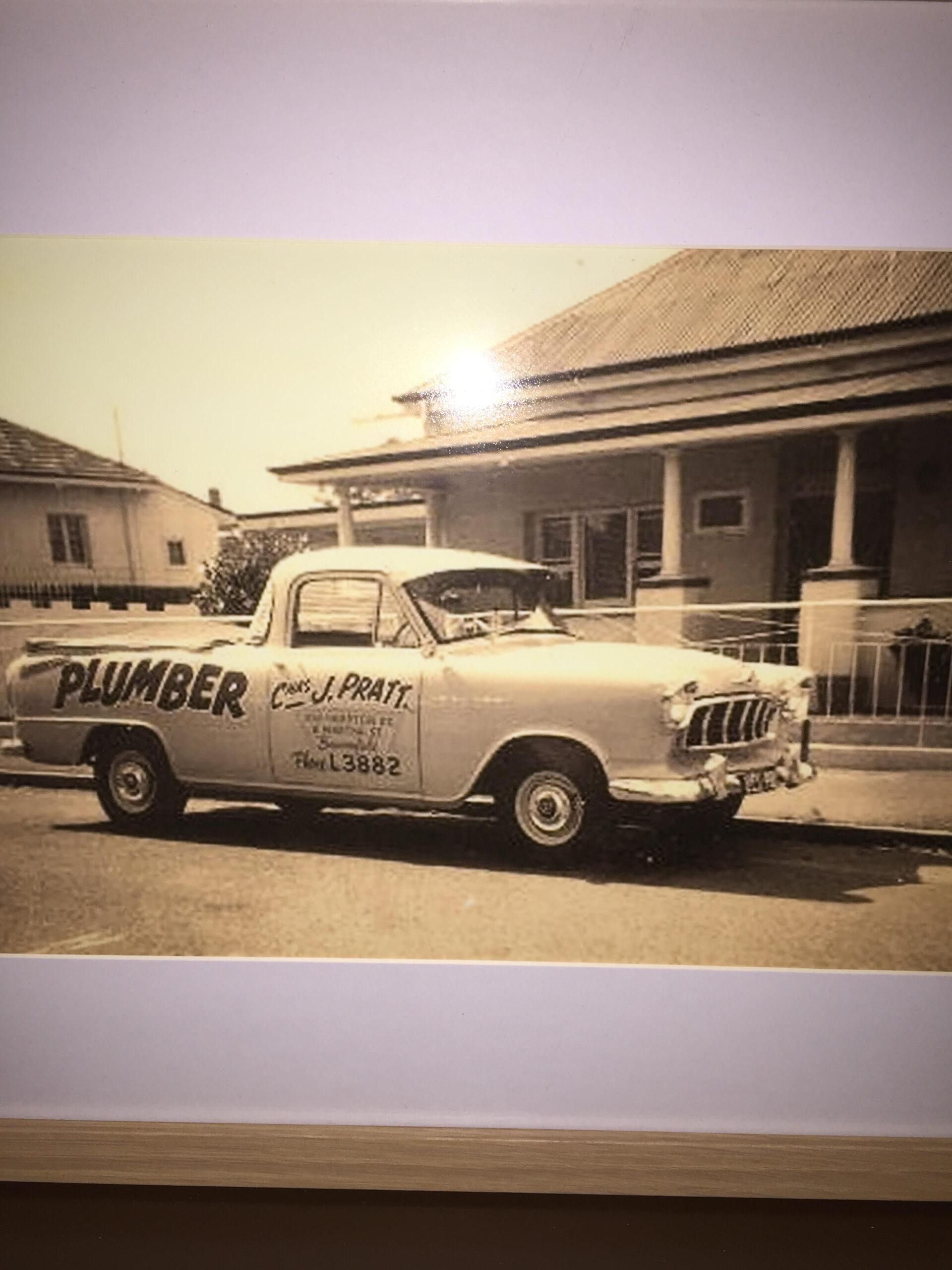 Pratt Plumbers first van